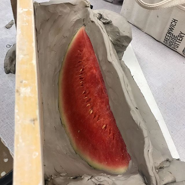 Here we go with a new mold! #watermelon🍉 🤞 feelin' those summer vibes 🌞😎