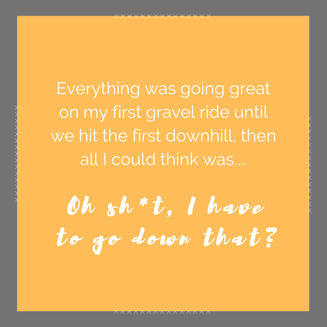 When I got to the top of the first big hill on my first gravel ride, all I could think was.....png
