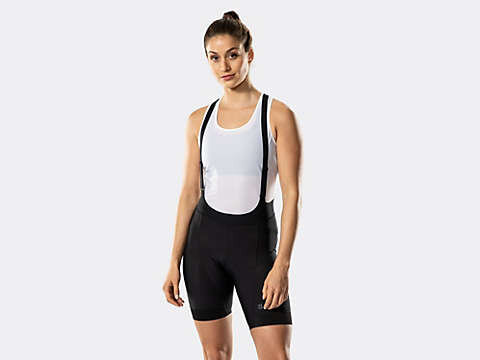Bib shorts - which to me look like suspenders and make it a whole lot more difficult to pee.