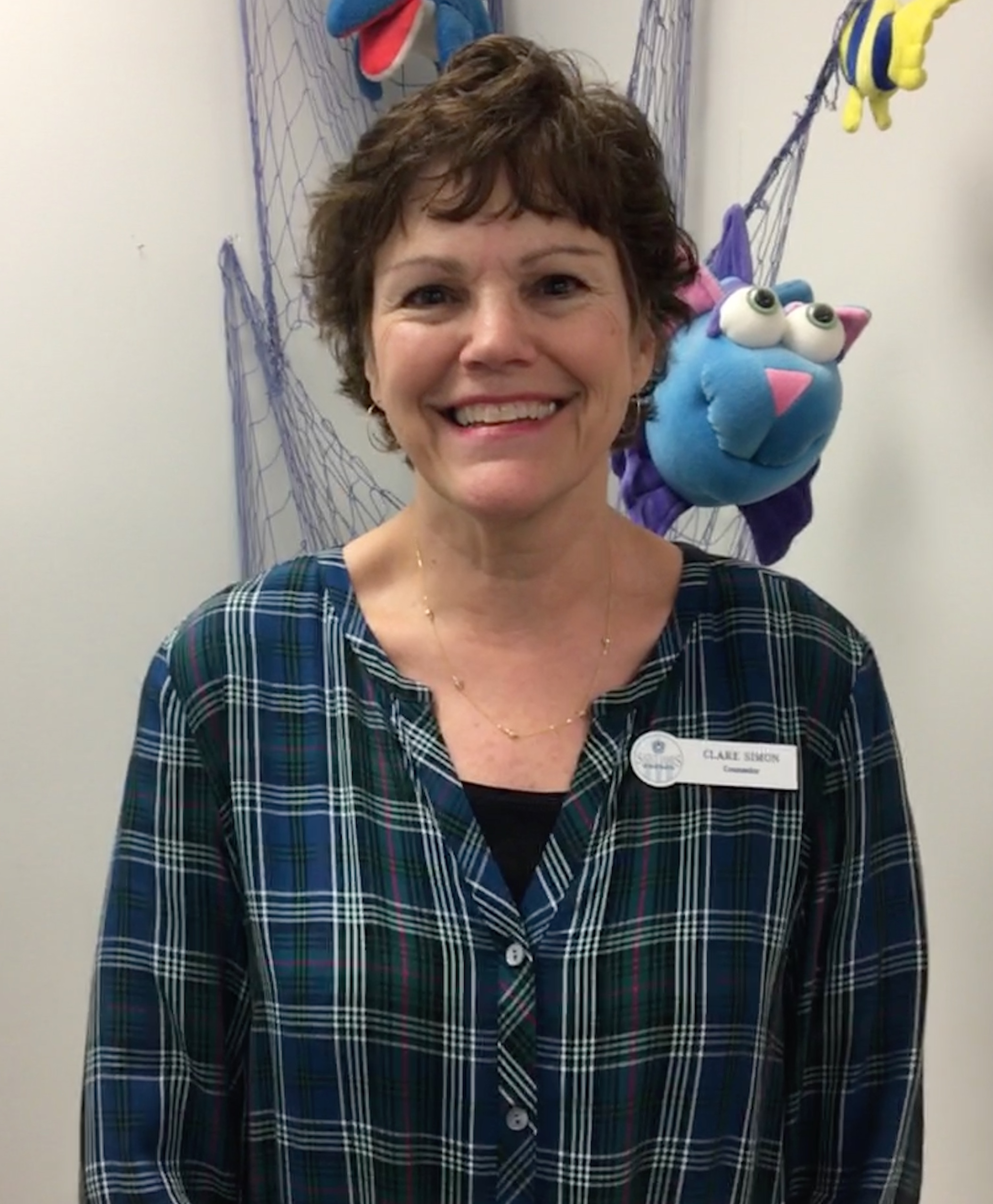 Clare Simon, Elementary School Counselor
