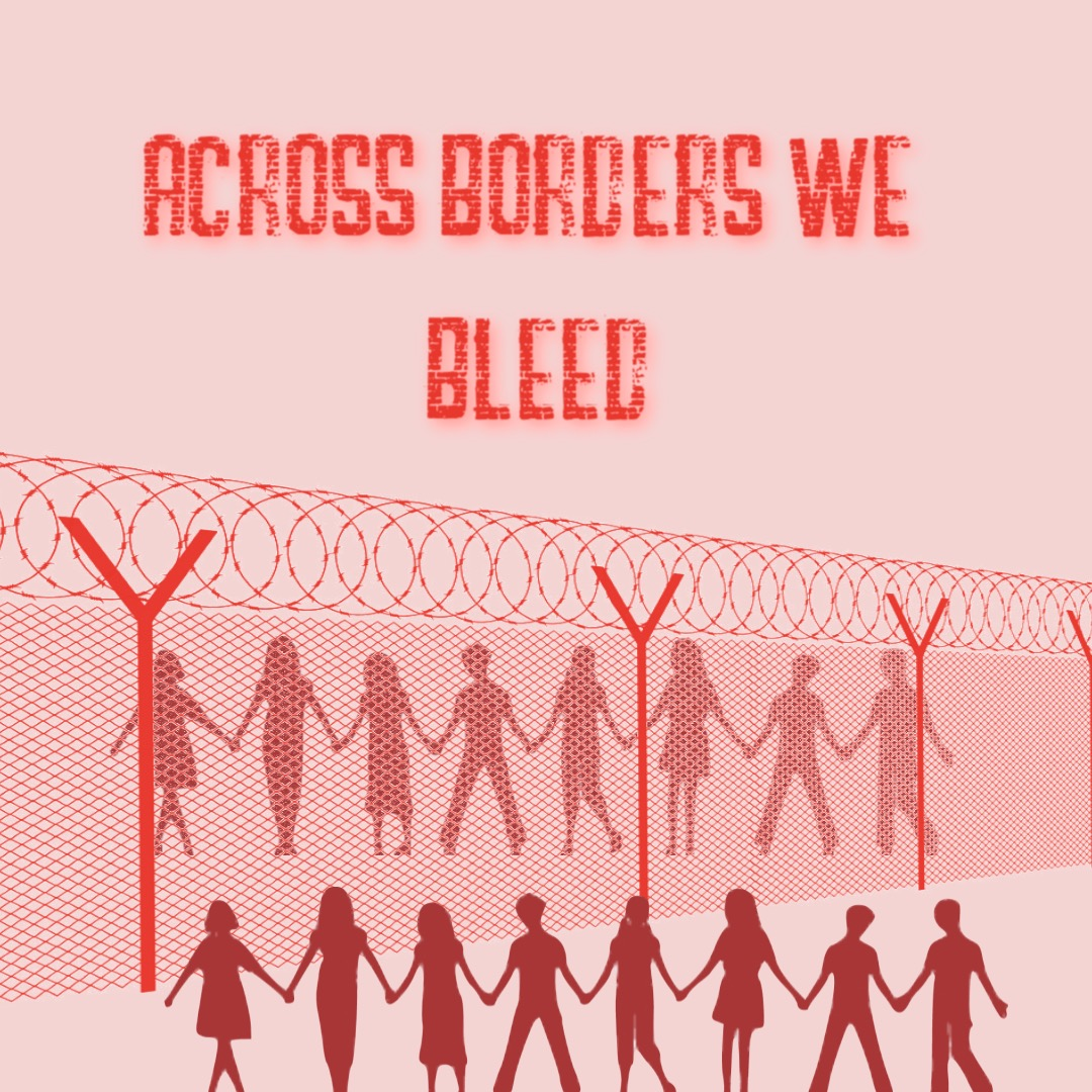 The right to dignity is every person's right. - Migrant girls on the border are not being given enough products, some of whom are visibly bleeding through their pants. Most are only being given one pad per day and then being forced to sit in their soiled underwear and pants.Operation Period is forming a campaign this weekend with the hashtag #AcrossBordersWeBleed to build solidarity on the issue of global period poverty and raise awareness for the conditions these migrant children are being subjected to.Please use the hashtag throughout the week and encourage others to use it to build awareness. In addition, if you can donate, we will use those funds to create an art piece at the border for this campaign.With this campaign, we hope to put pressure on the administration to do their job and provide the menstrual products and education the individuals menstruating at the border need and deserve to be healthy.