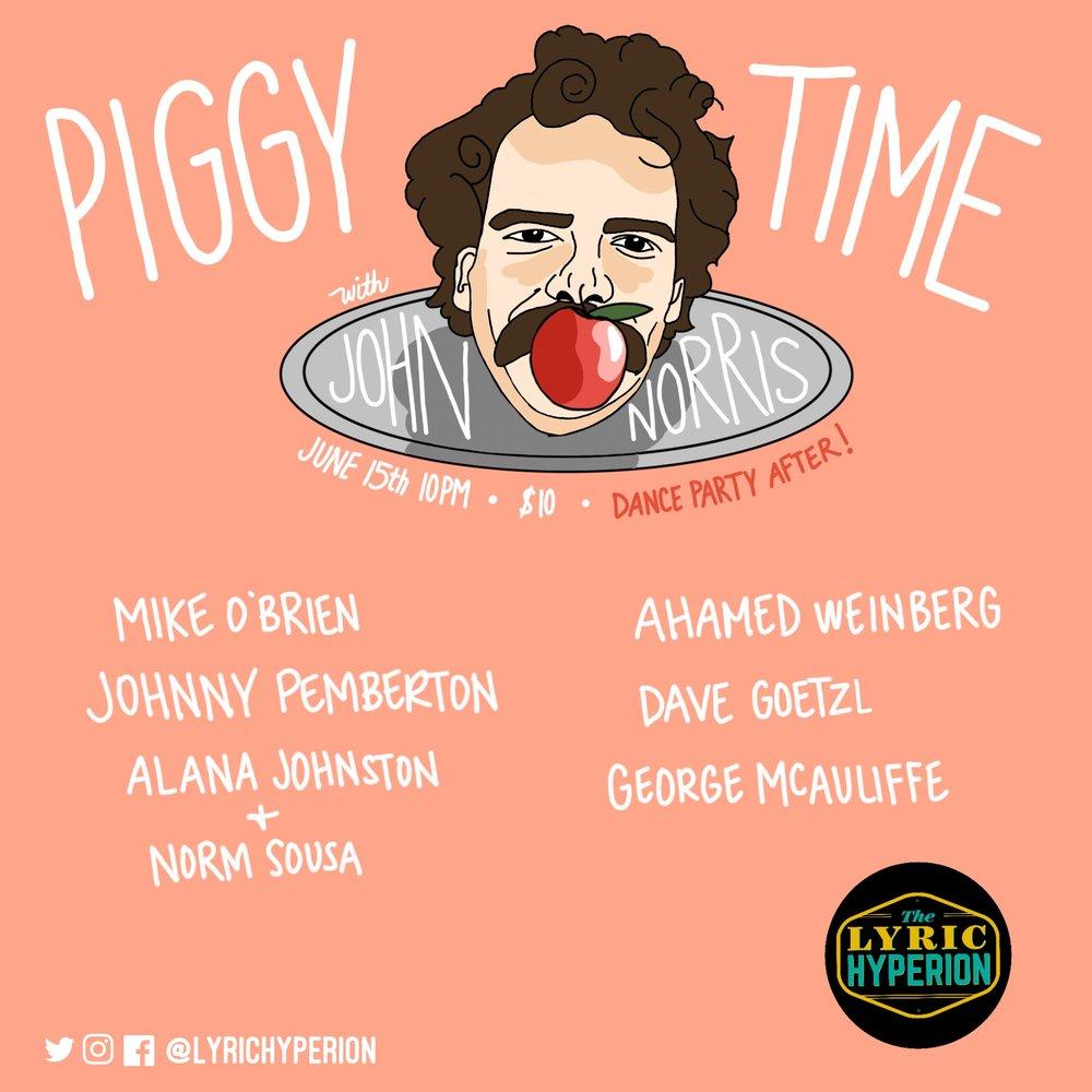 Piggy Time Banner