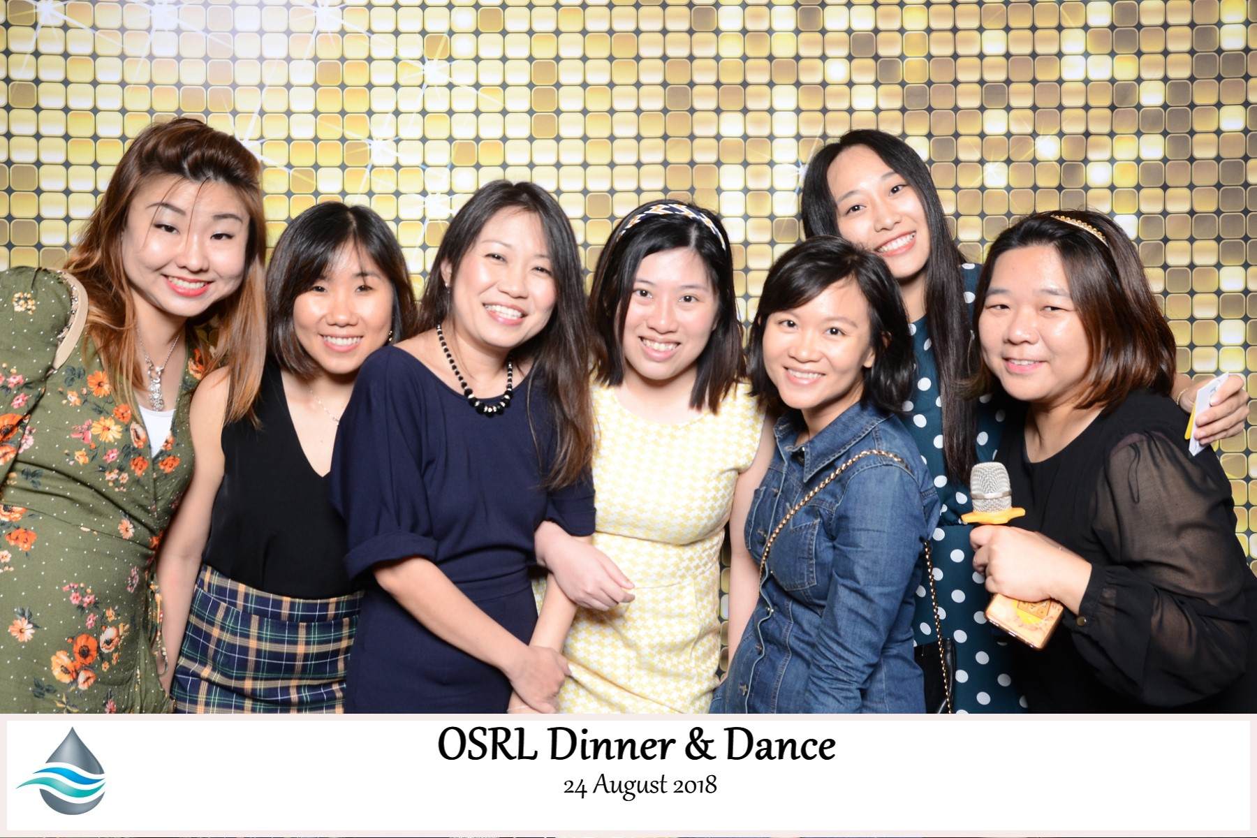 Photobooth for OSLR Dinner & Dance 24 August 2018