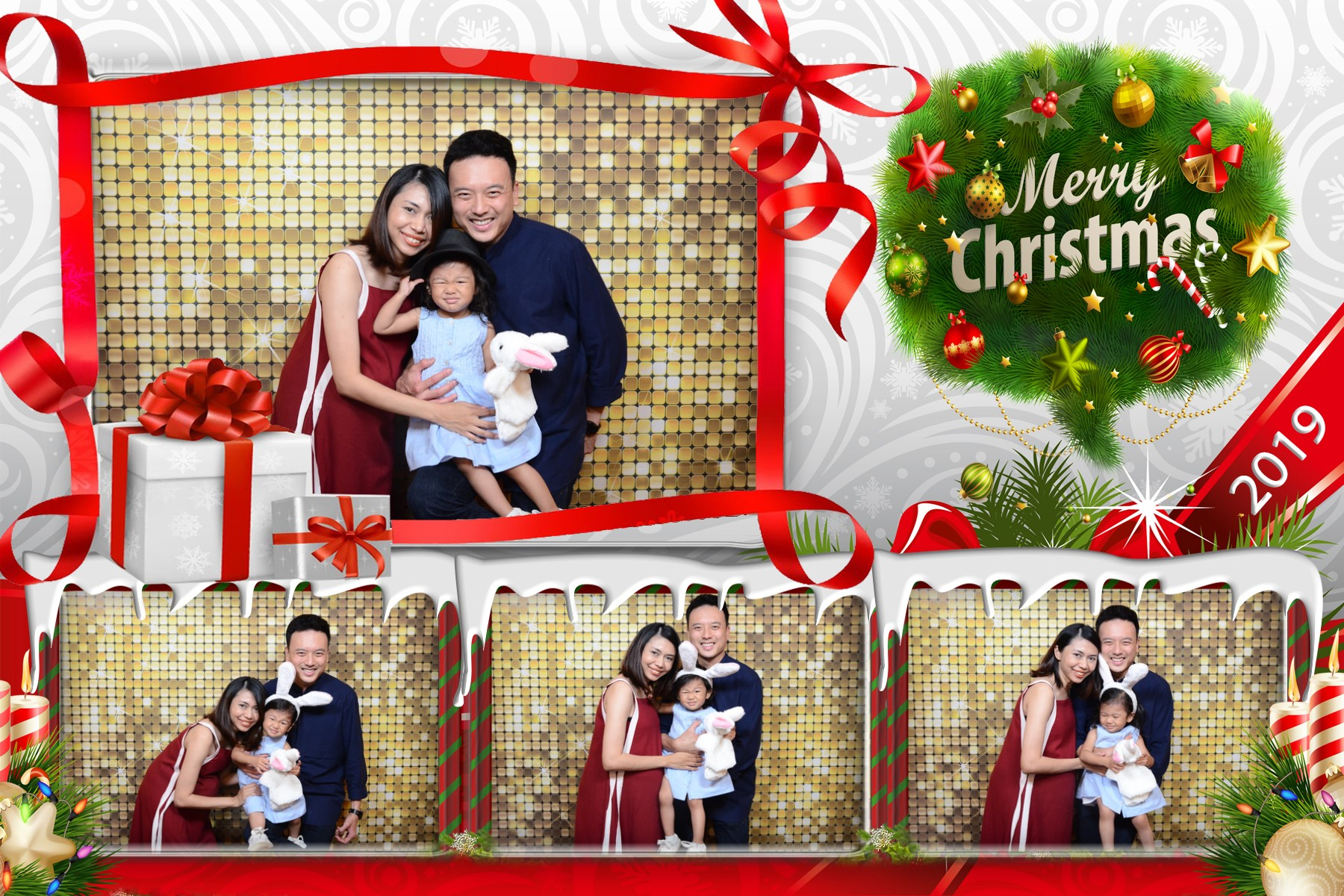 S1 - Christmas 4 poses