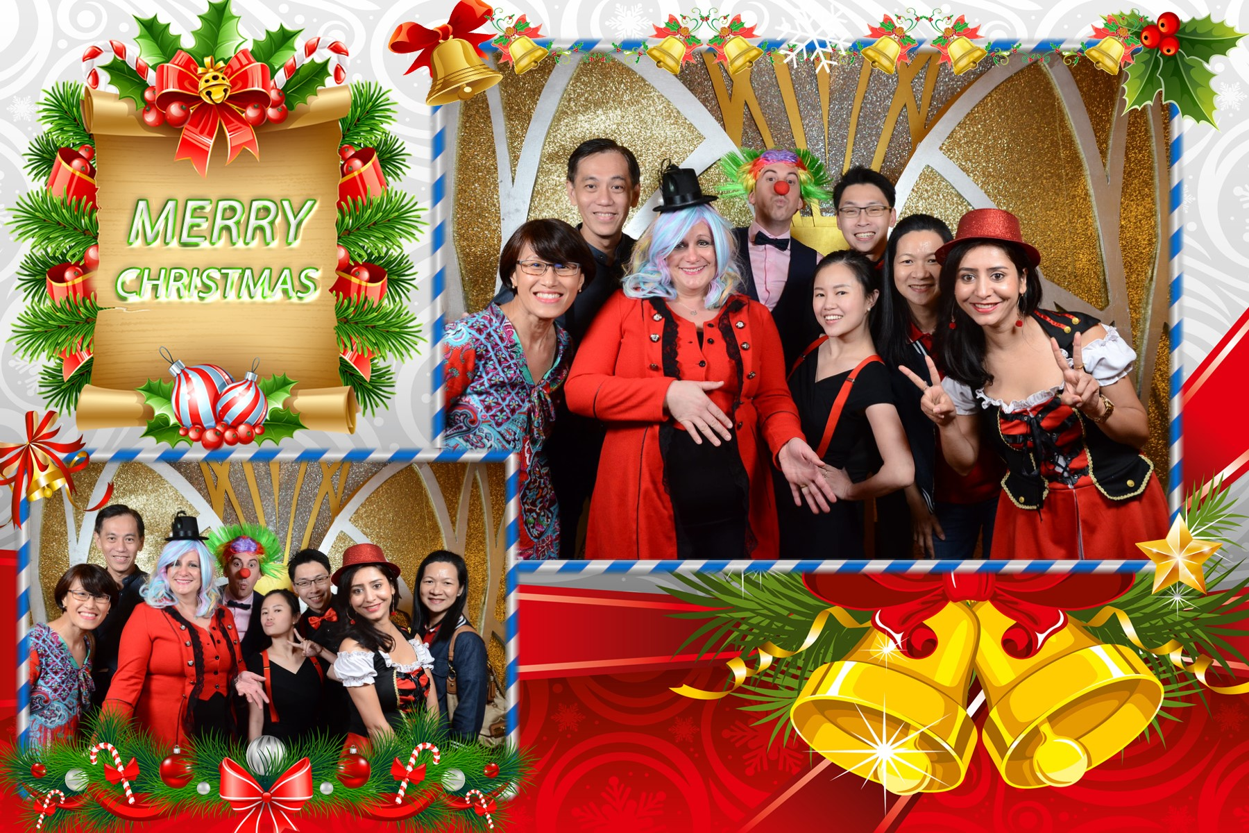 S2 - Christmas 2 poses