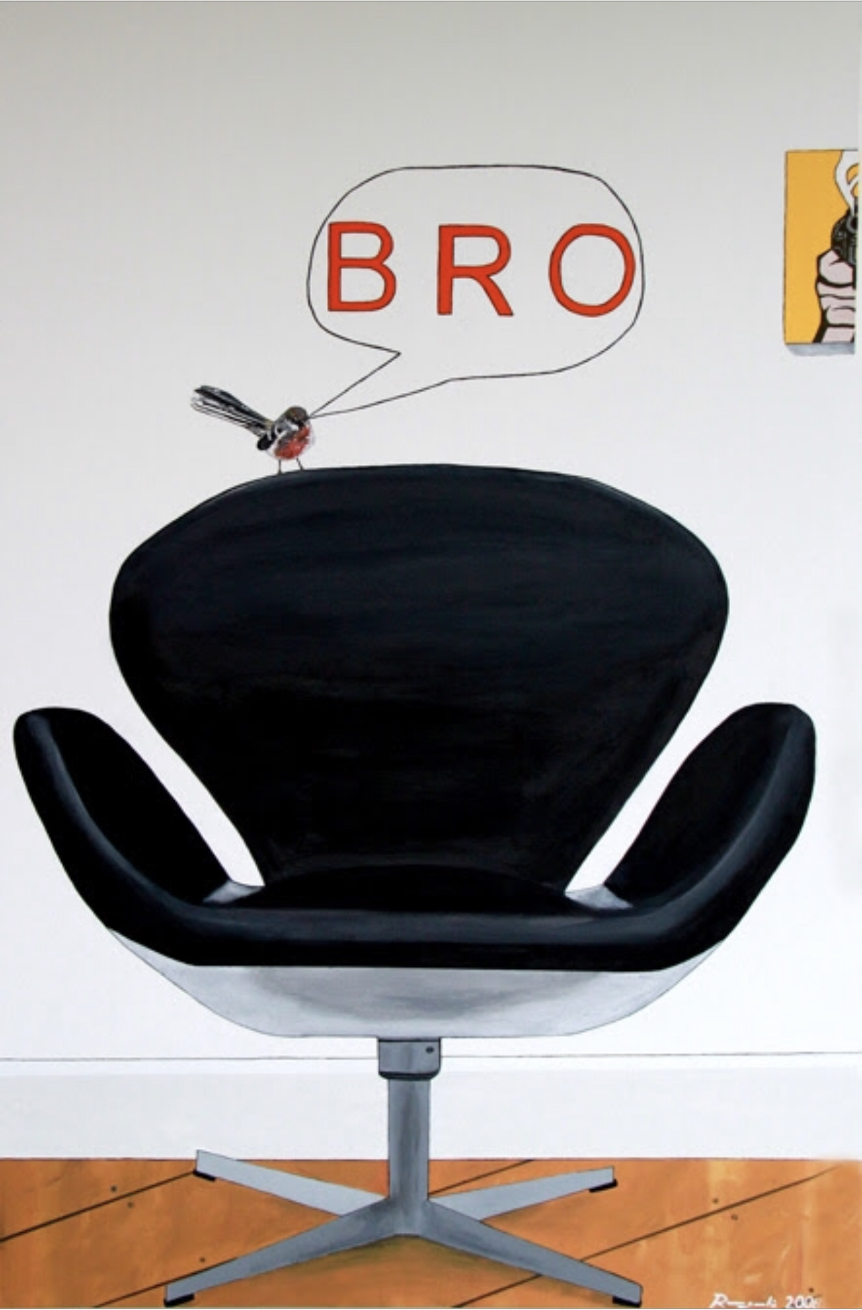 Chair (chur) bro