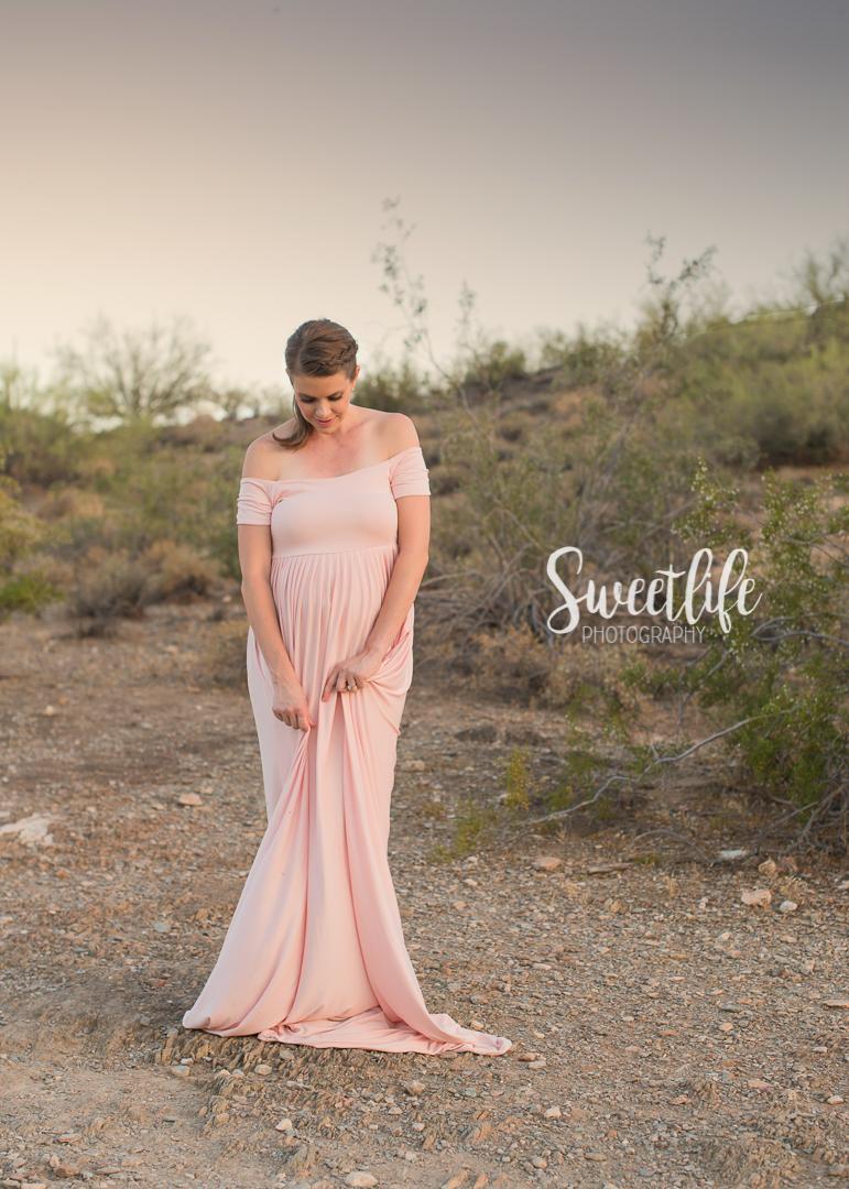 Arizona desert maternity session | Sweetlife Photography