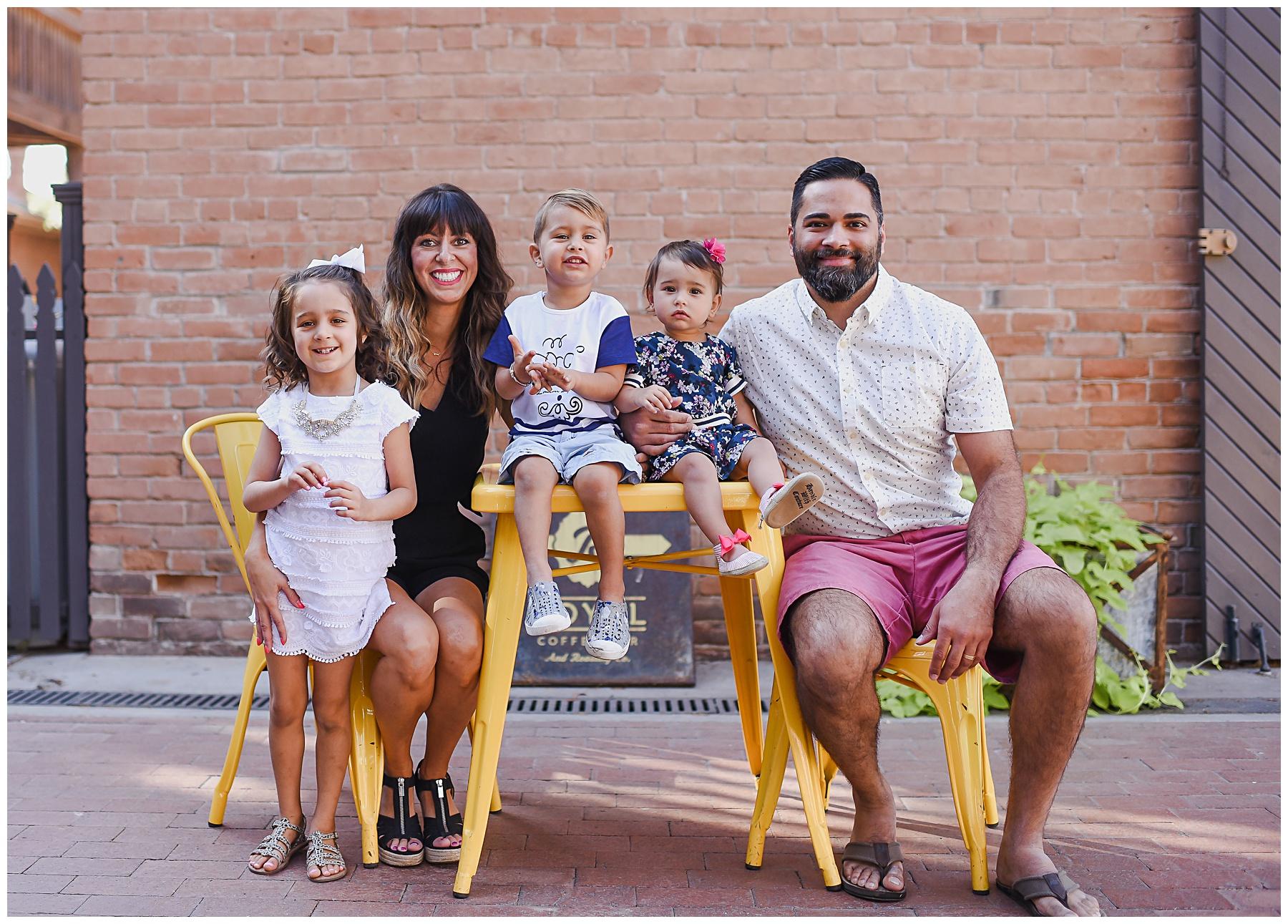 Urban family portrait session in Phoenix AZ   SweetLife Photography