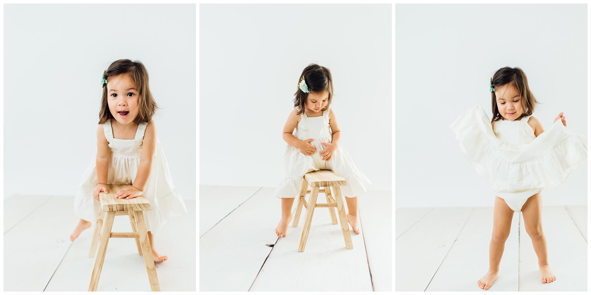 Studio Milestone Portrait Session | Phoenix Child + Baby Photographer_0003.jpg