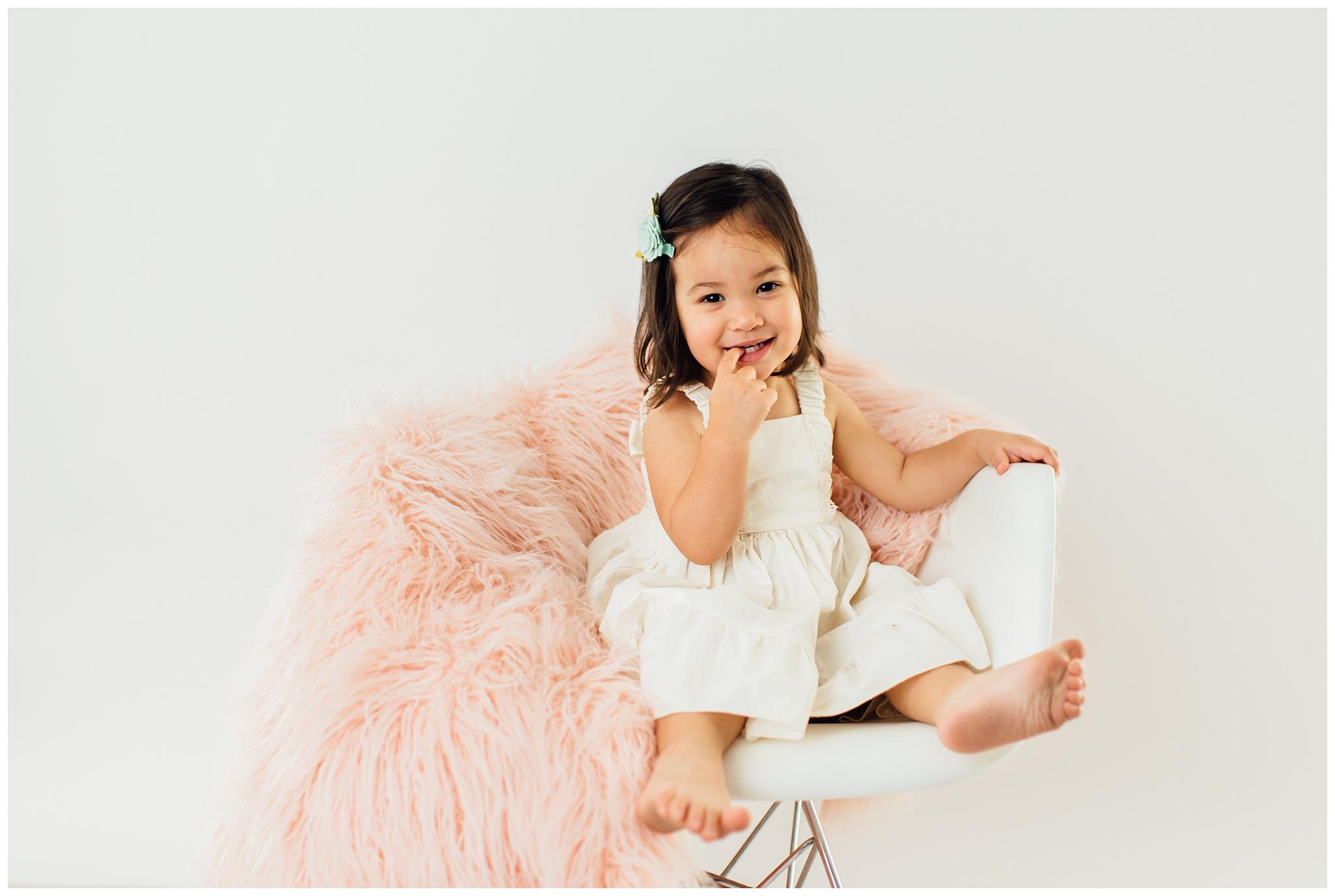 Studio Milestone Portrait Session | Phoenix Child + Baby Photographer_0011.jpg
