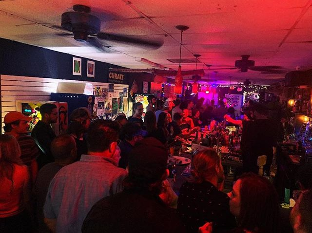 BIG THANK YOU to all who came out and packed out @niceguyspizza! we love y'all and can't wait to be back hopefully a few months. LETS MAKE THE NEXT SHOW EVEN BIGGER!!!🕺 and shout out to @brothercephus and @thekimberlys for crushing  NEXT SHOW: @highdivegville in Gainesville on May 9!  not sure who took this photo but thanks too ; )