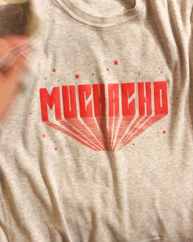 NEW MERCH! we had fun hand picking repurposed shirts for our limited run of muchacho tees. $25 / very limited quantities. come get your at tomorrow's show at @highdivegville