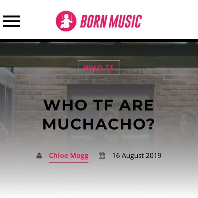 WHO IN THE WORLD IS @muchacho.band? check out our interview with born music and maybe you'll unlock the SECRET TO INFINITE HAPPINESS (or just hear about us meeting Smash Mouth one time lol)✨✨🖖👽 LINK IN BIO
