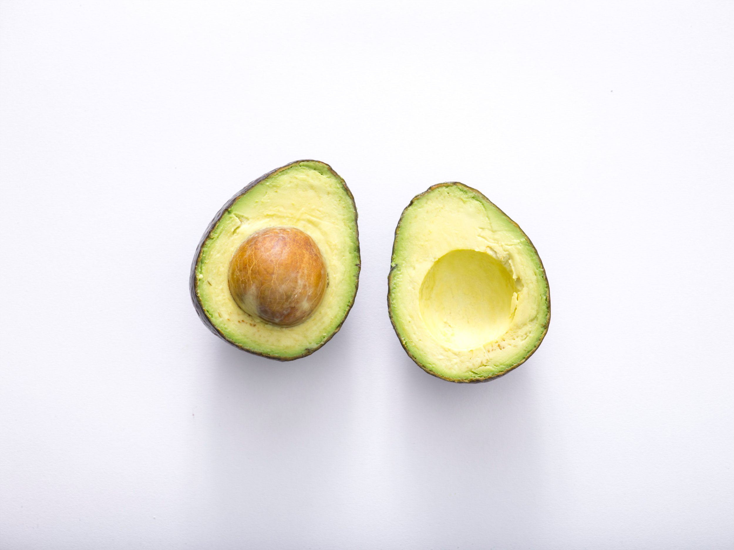 Avocado - Wondering why avocado toast is all the rage? It is the fat that fuels you. Avocados have high levels of Polyunsaturated fat and Monounsaturated fat, which increase the absorption of soluble vitamins. They're also a great source of B vitamins, which increase energy and metabolize protein and carbs. Lastly, they have growth hormones, which boost the body's ability to build muscle.