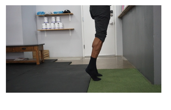 Heel Raise Step 2 -