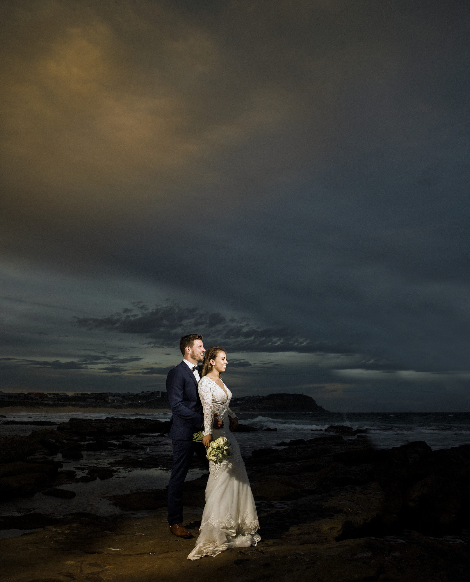 Rach & Nik - Merewether Surf club