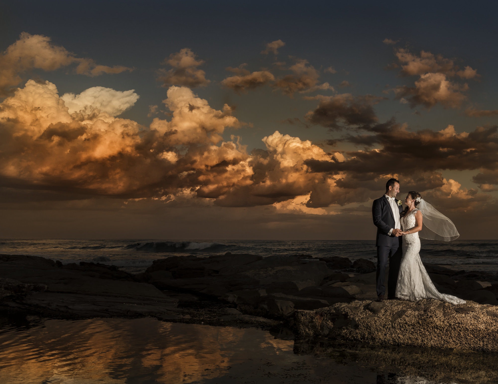 Aimee & Jamie - Merewether surf club