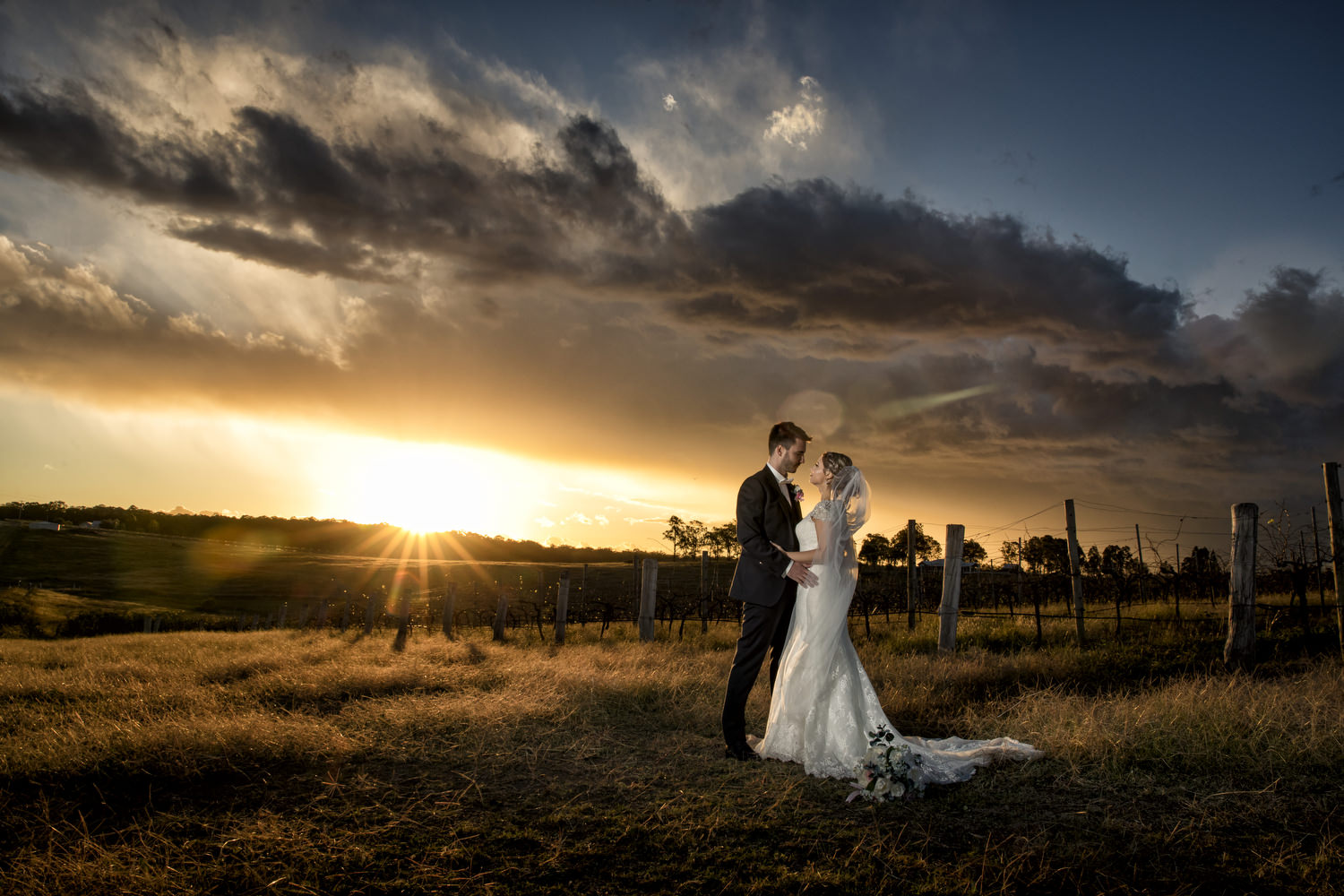 Ashley & John - Crown Plaza Hunter Valley