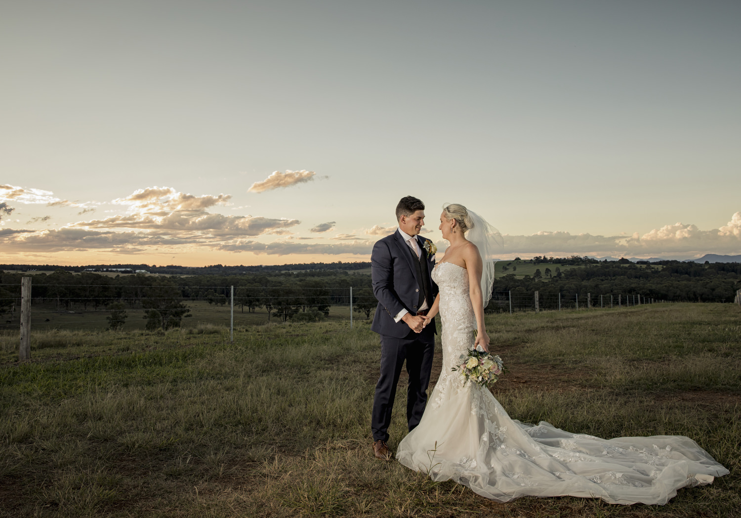 Gemma & Alex - Peterson's Champaign House - Hunter Valley