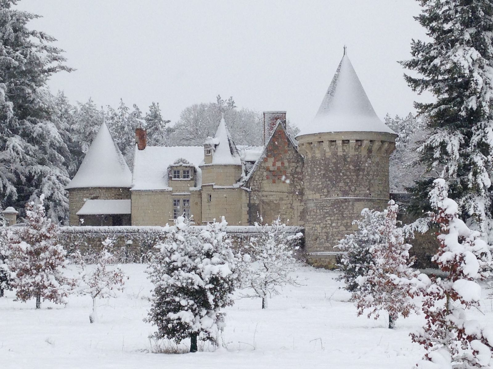 Château de La Fuye - Welcome to La Fuye: the home of premium French Black Winter Truffles and other luxury gourmet delicacies
