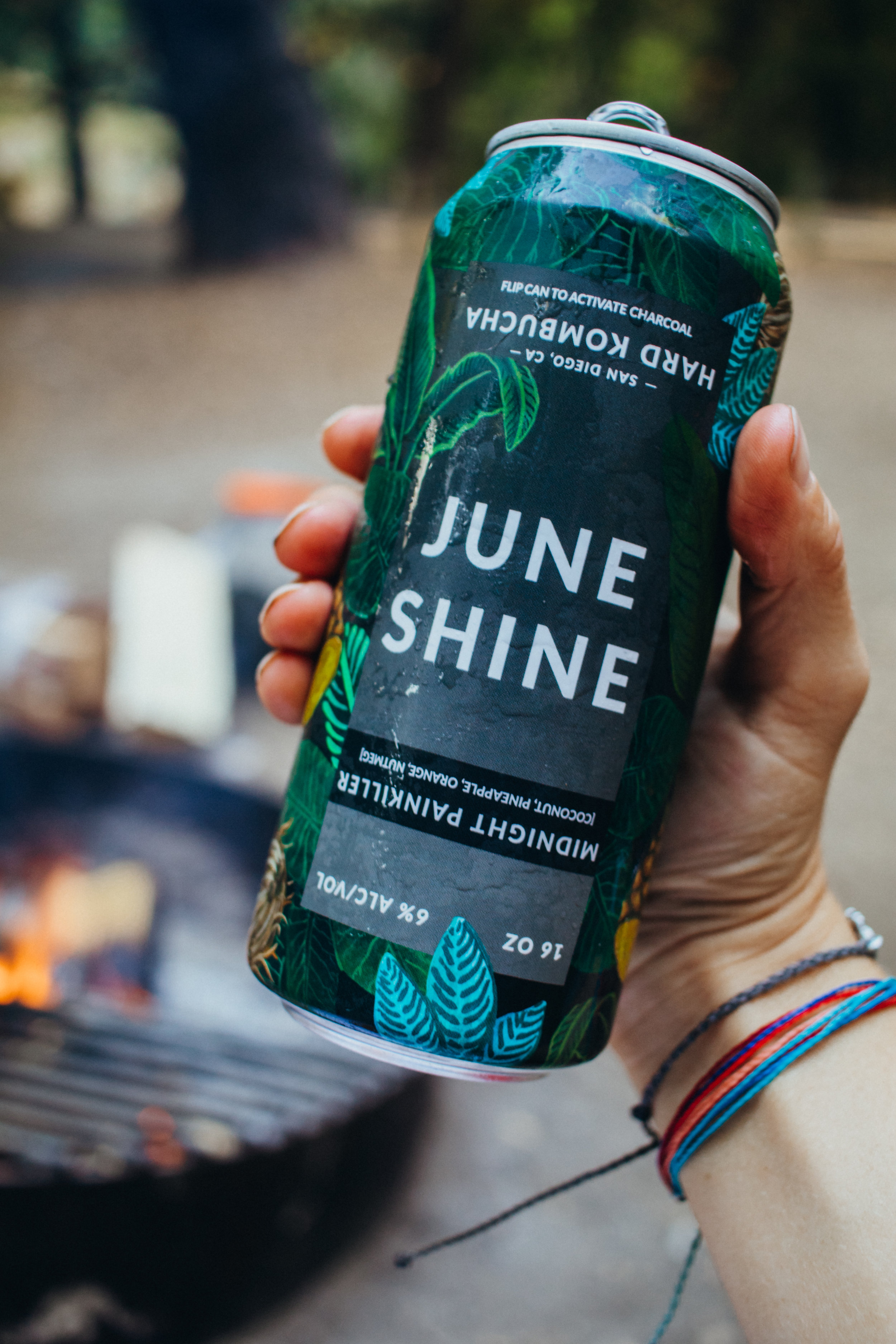 juneshine hard kombucha was one of the best parts about this trip.