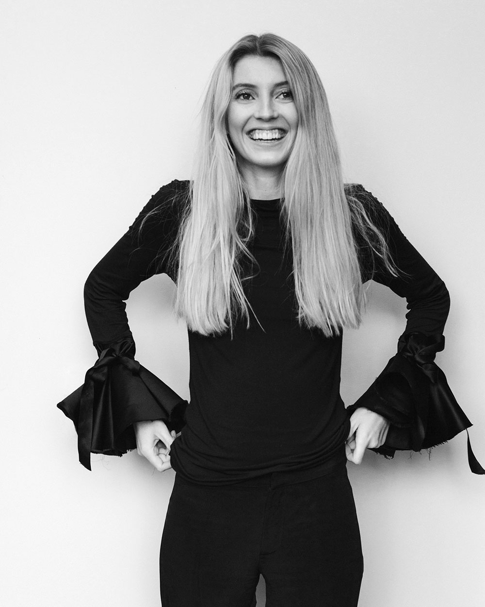 New Zealand Fashion Designer Maggie Hewitt, image courtesy of Maggie Marilyn