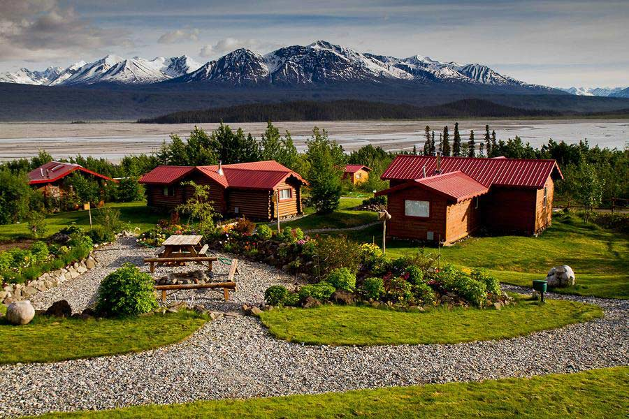 Ultima Thule Lodge, Alaska,via  Citizens of the World