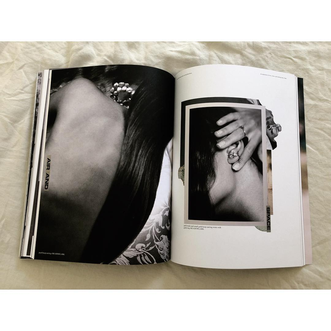 Image courtesy of  jane. magazine feat.photographs by  odin wilde  +artwork by ellie coker.
