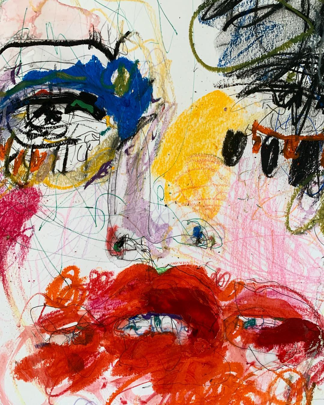 Facelift by © Rebecca Russo AKA  @cigarettesandkale , courtesy of the artist
