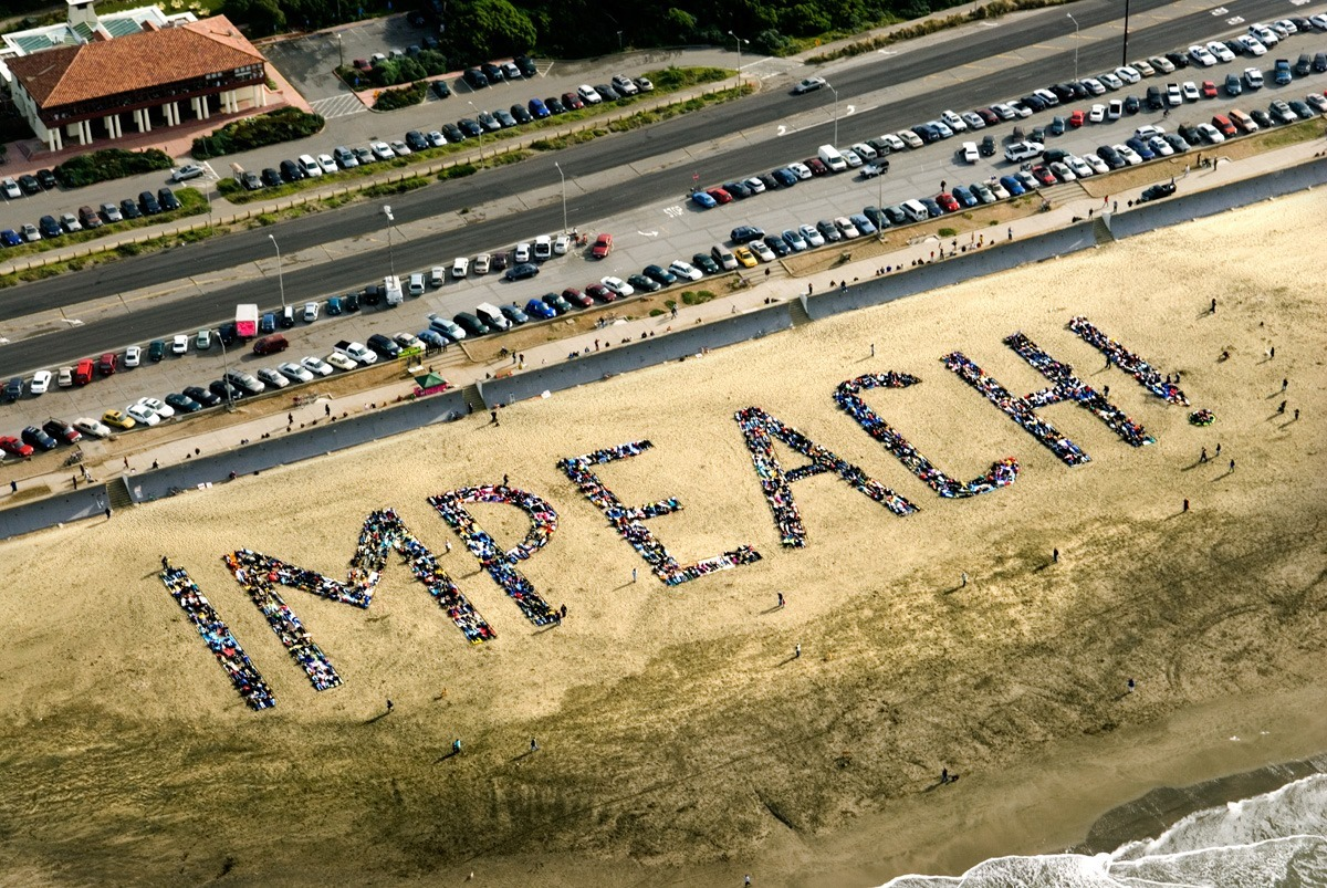 Impeach-on-Ocean-Beach