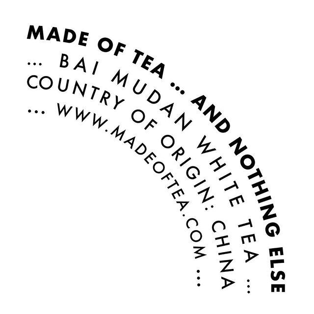 The best of both worlds: nutty🥜and fruity🍒 . . . #madeoftea #whitetea #tea #tealover #tealovers #ilovetea #teaholic #timefortea #teatime #tealife #teaaddict #teaparty #teadrinker