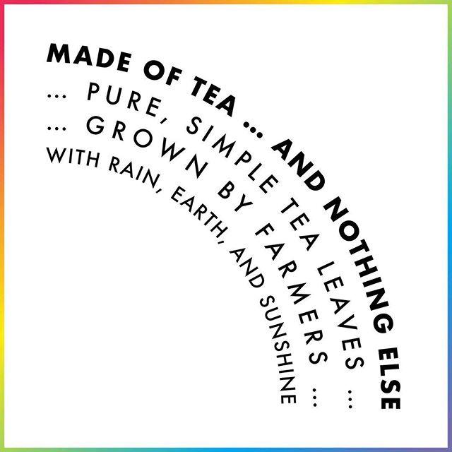 Let's get back to the basics with Made of Tea 🌈 . . . #madeoftea #tea #tealover #tealovers #ilovetea #teaholic #timefortea #teatime #tealife #teaaddict #teaparty #teadrinker #cuppatea #basics #simple #pure