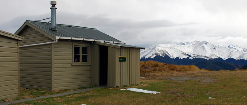 Cromel Hut, Eyre Mountains.