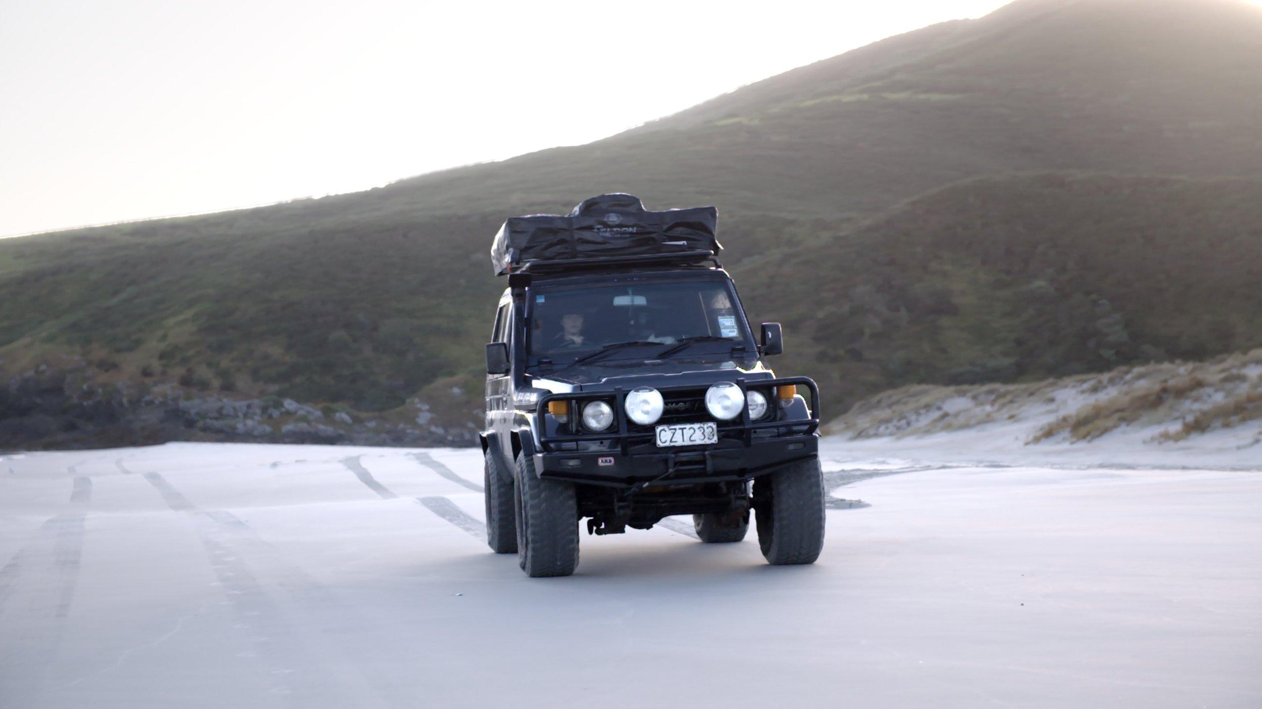 Toyota Landcruiser Camper NZ
