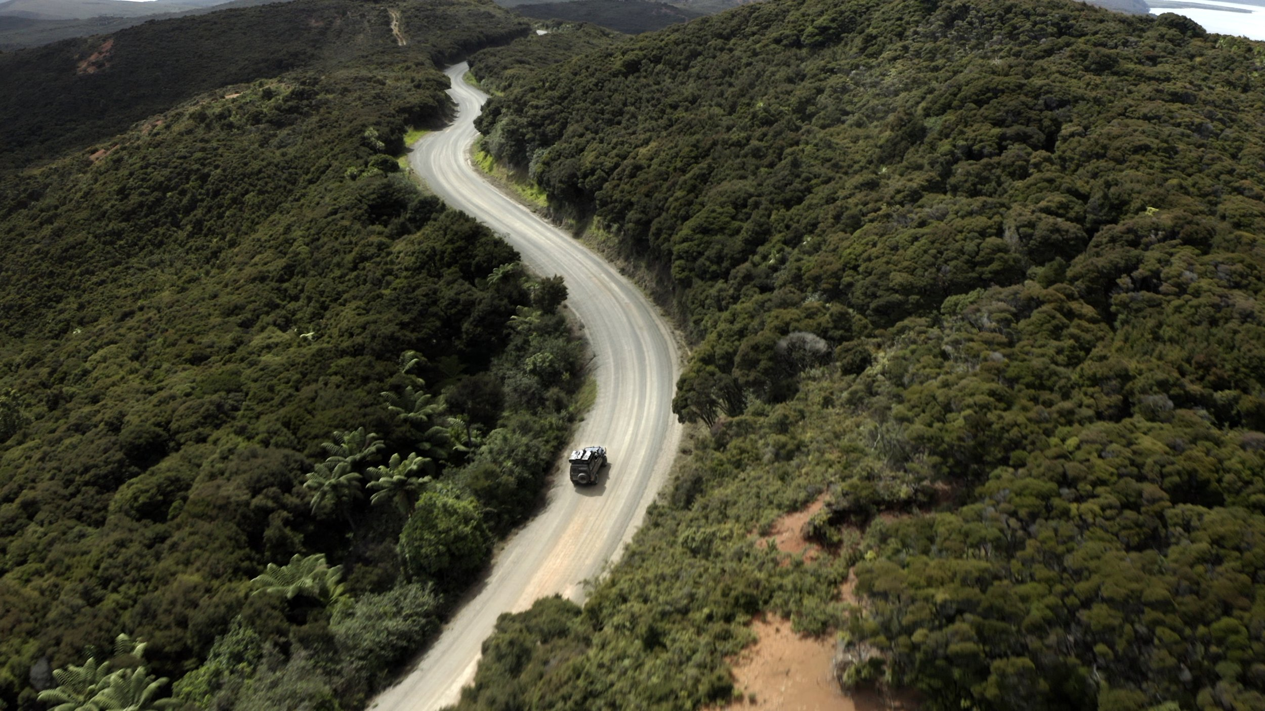 Mountain Driving - The Forgotten World Highway.