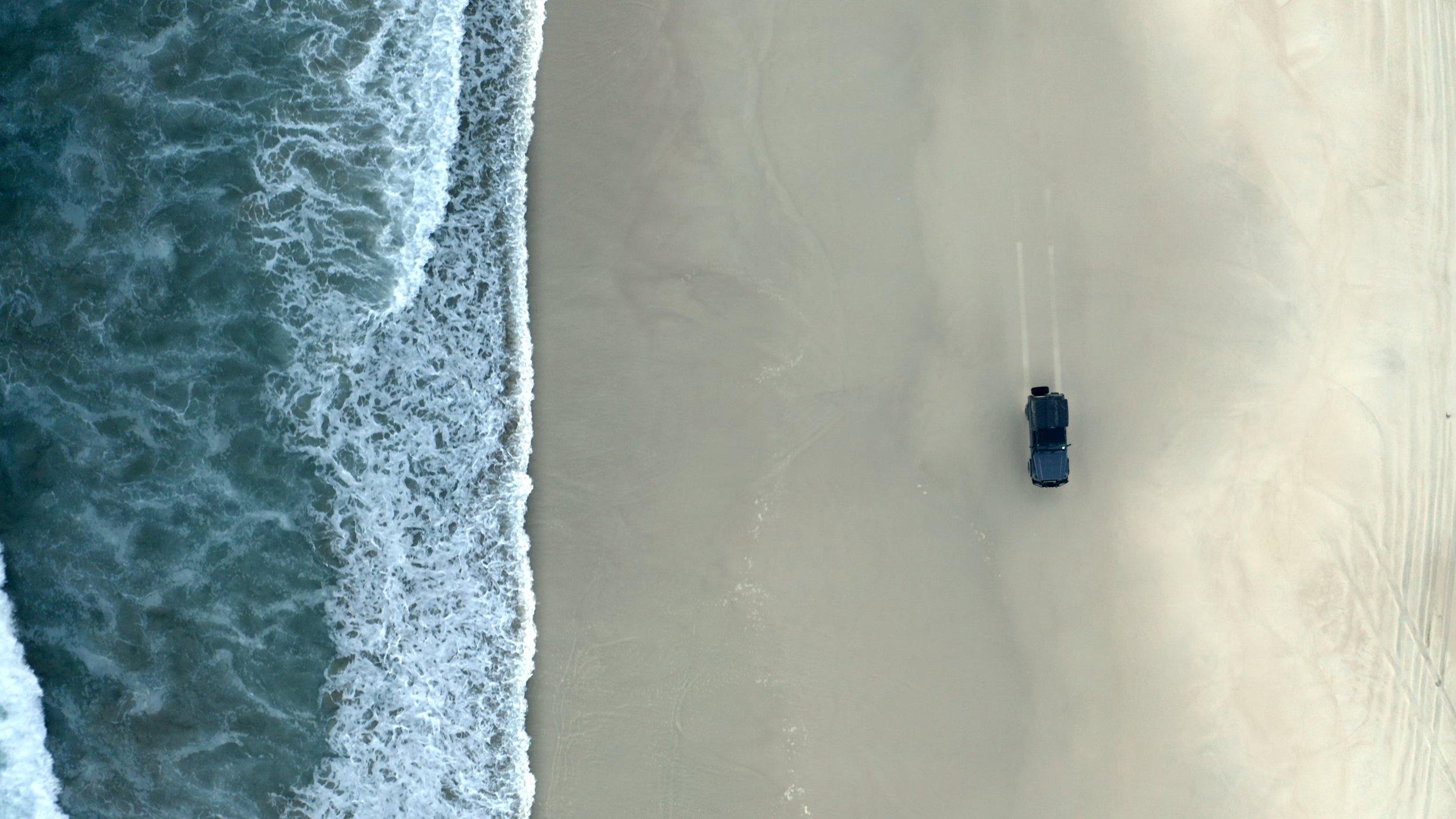 Beach Driving - Northern Peninsula.