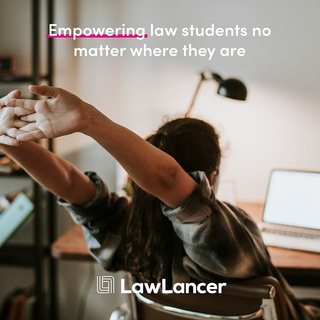 Concerned about burn out? Don't want to be shackled to a desk during your uni degree? Want to combine your studies with other interests? Then it's worth joining the LawLancer revolution. LawLancer is an online platform launching next year which aims to democratise the legal industry. We are empowering law students no matter where they are. Get experience, get paid. ⁣ .⁣ .⁣ .⁣ .⁣ #lawlancer #tech #workfromanywhere #law #lawstudent #lawschool #lawyer #unilaw #university #student #lawfirm #qldlaw ⁣