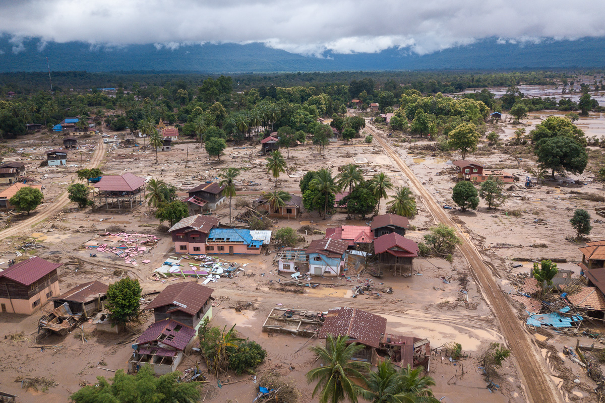 Laos Dam Collapse - Mai village