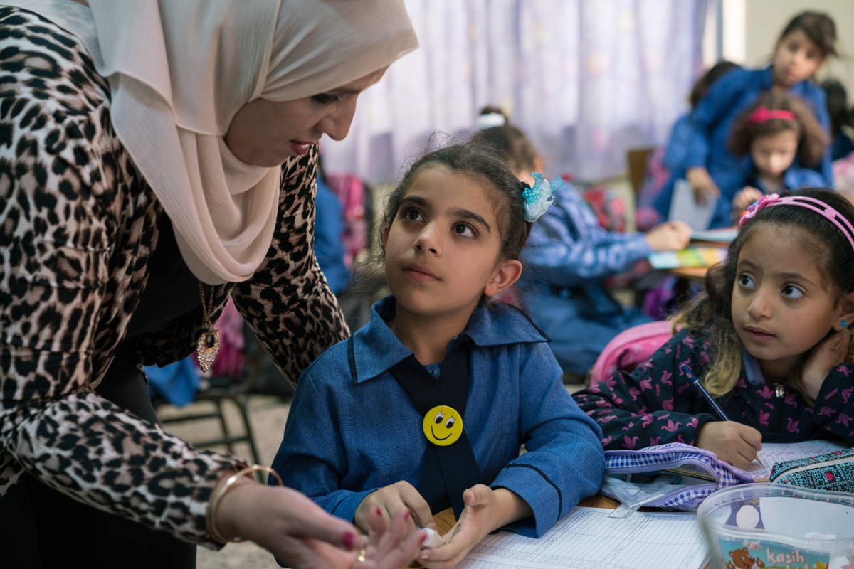 Let Girls Learn Jordan - Principal Maha al Ashqar