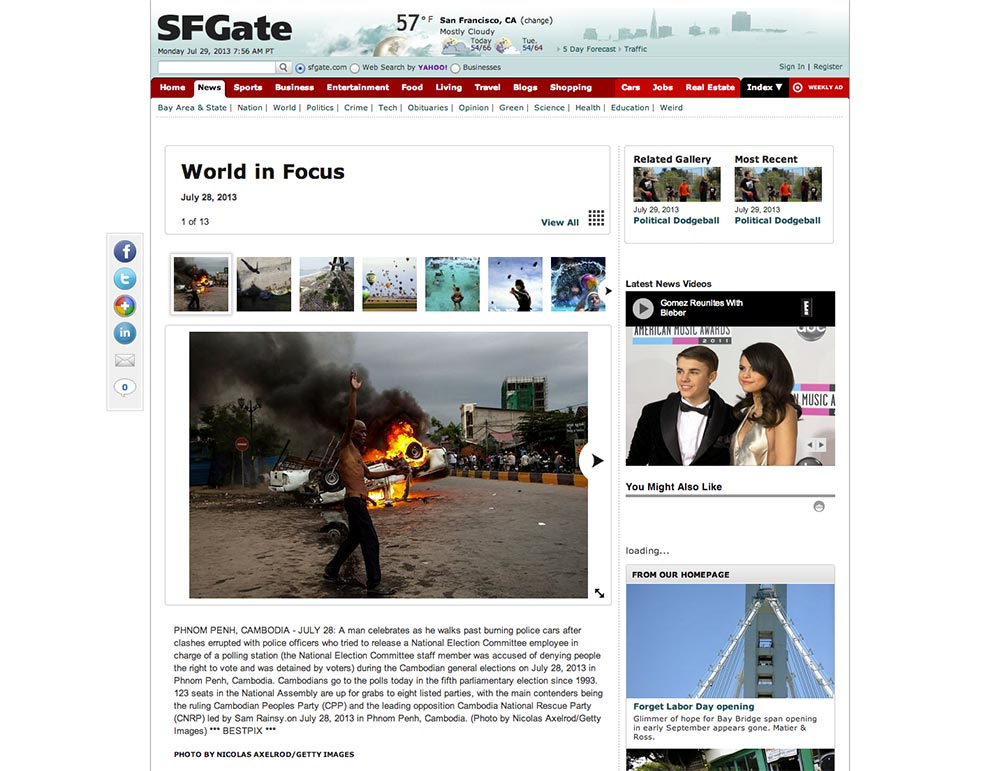 SF Gate - Nicolas Axelrod http://www.sfgate.com/news/slideshow/World-in-Focus-67181.php