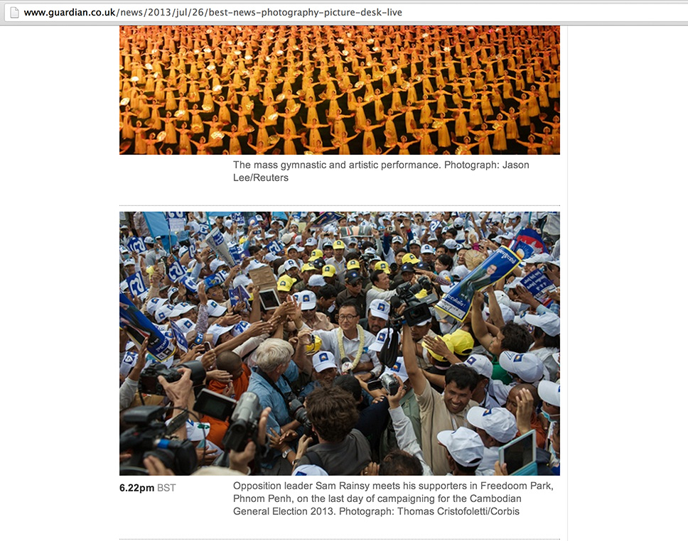 Thomas Cristofoletti: The Guardian http://www.guardian.co.uk/news/2013/jul/26/best-news-photography-picture-desk-live