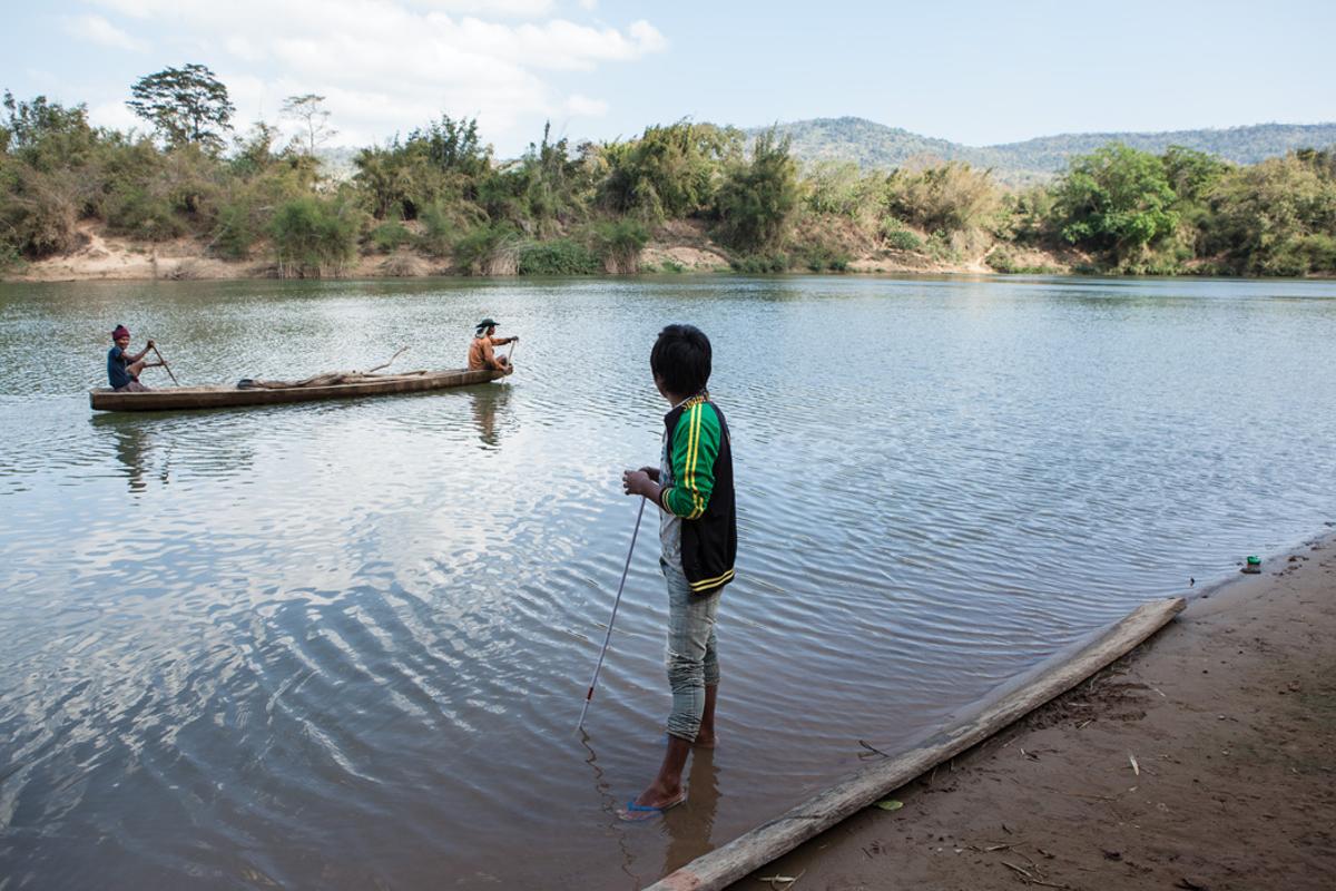Jan. 19, 2013 - Savannakhet province, Laos. Poueng (18) UXO victim, Vangkot village. � Nicolas Axelrod for HI