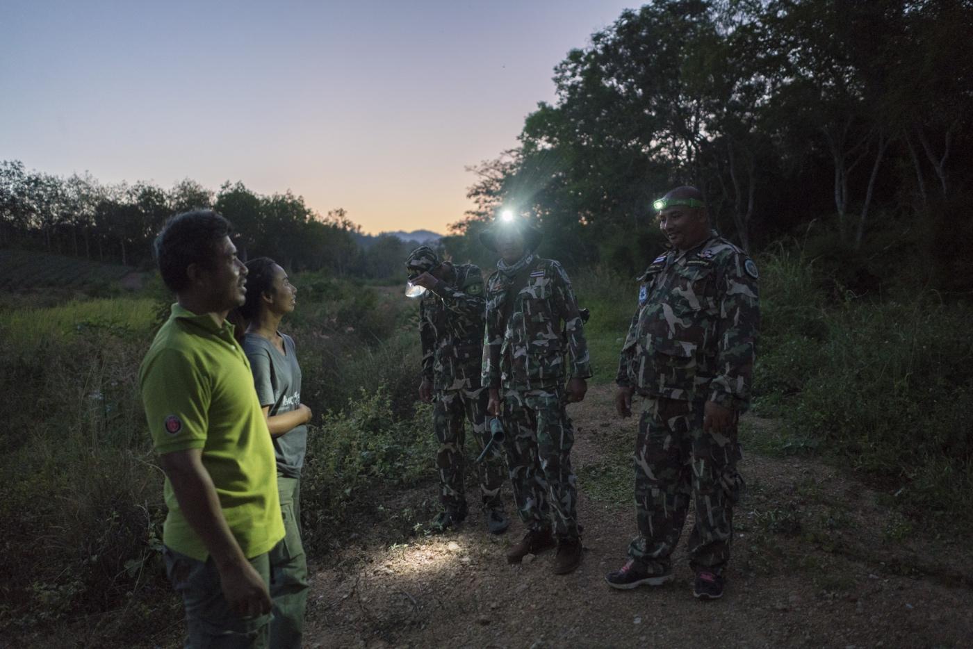 WWF Thailand, Kui Buri - Night Patrol