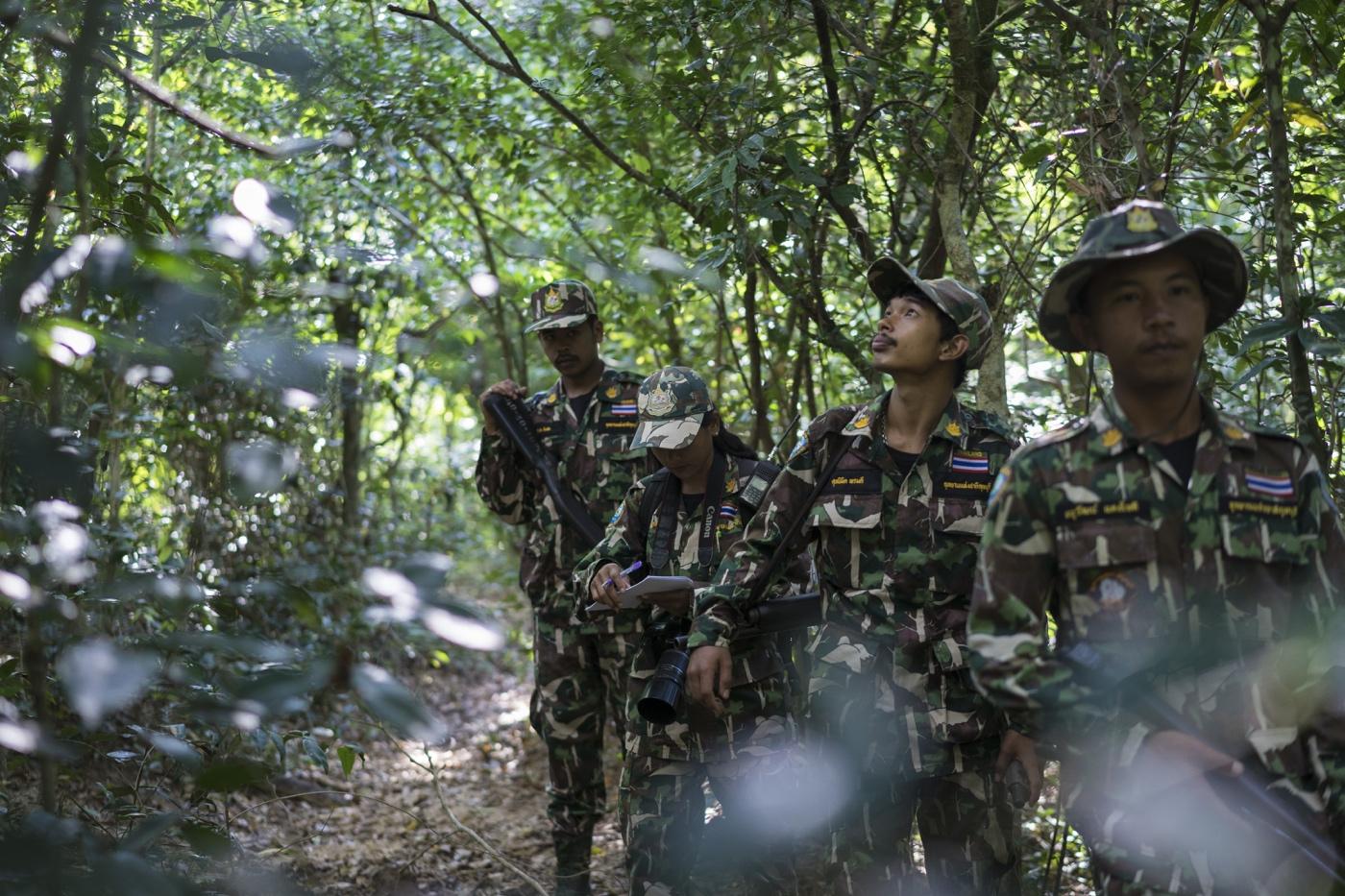 WWF Thailand, Kui Buri - Woraya Makai and patrol