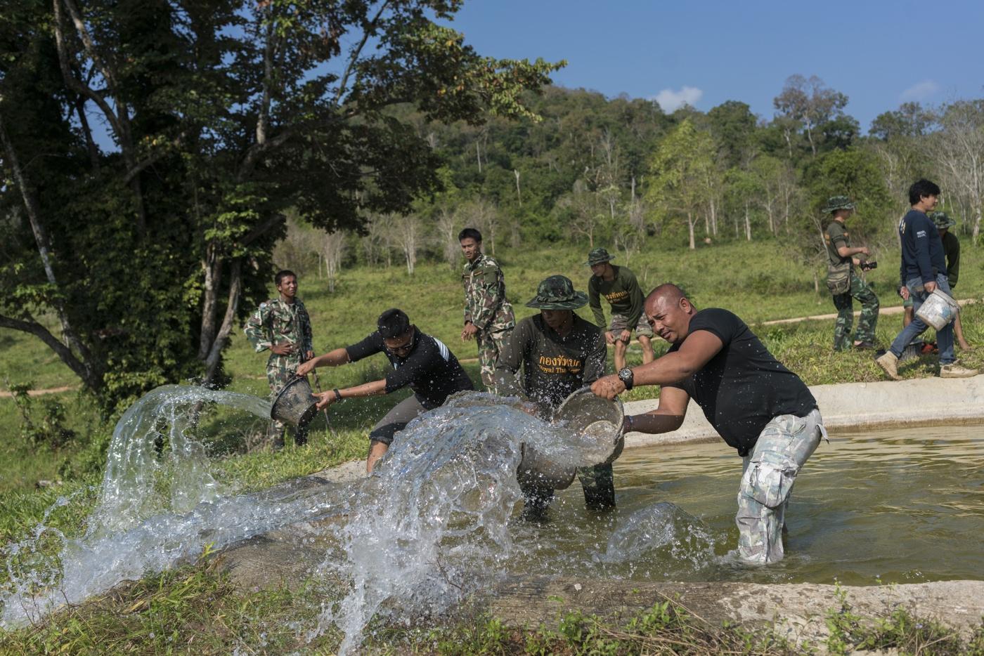 WWF Thailand, Kui Buri - Inside the park