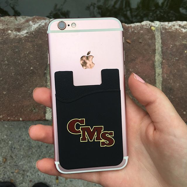 🚨NEW ITEM ALERT🚨  CMS Phone Pockets now available at The Scripps Store! 💛❤️