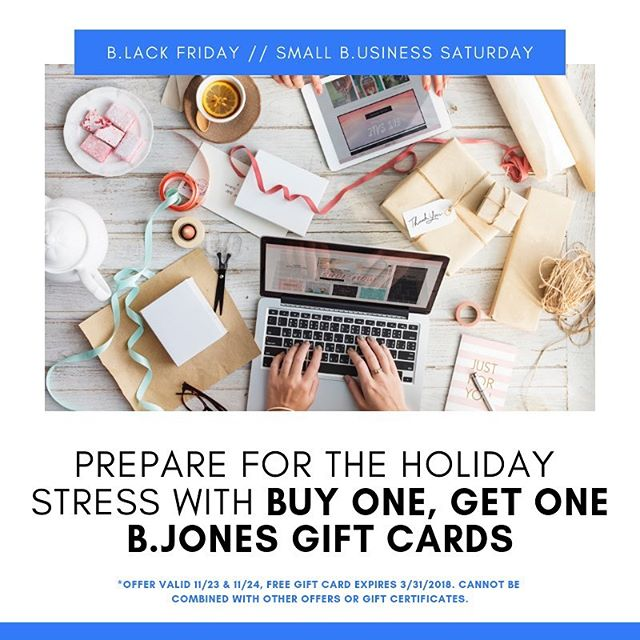 """Only a few hours remaining to snag your BOGO gift card! Visit our website and use coupon code """"BOGO"""" to order online."""