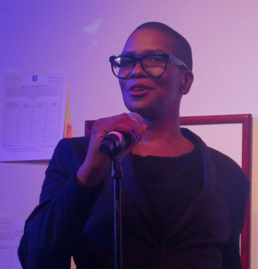 Pamela Sneed, photo credit Jackie Rudin