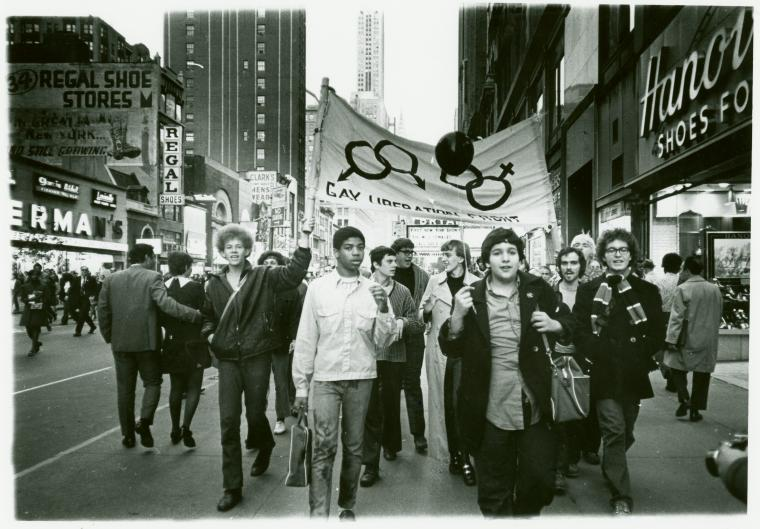 June 1970 Christopher Street Gay Liberation Day March
