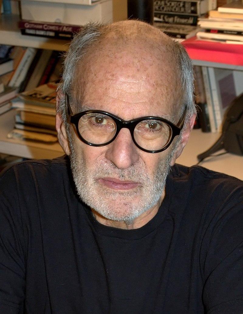 Larry Kramer, photo credit David Shankbone